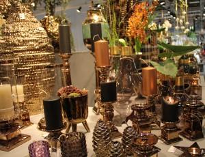 Metaller i kopparfärger är fortfarande populärt, dessa är från Edelweiss