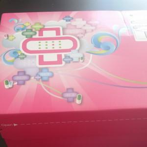 Fint rosa paket!