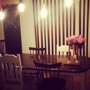 Fina matplatsen, Älskar blanda svartvitt och lite färg =)